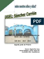 Informe Ece Ugel Sanchez Carrion 2013