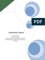 Word Handouts Theory of Automata
