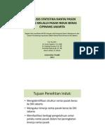Analisis statistika rantai pasok beras