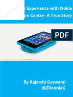 My Experience with Nokia Care Centre- A True Story