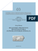 Alojz Benac - Religijske predstave prastanovnika južnoslavenskih zemalja