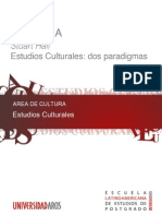 Stuart Hall. Estudios Culturales Dos Paradigmas