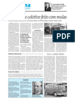 Rubens Lopes e Transporte Coletivo Com Mulas
