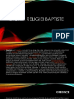Istoria Religiei Baptiste