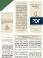Robert-Arthur Menard -The World Freeman Society - Introduction