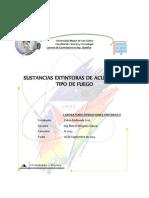 INFORME INDIVIDUAL -Sustancias Extintoras de Acuerdo Al Tipo de de Fuego