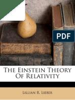 The Einstein Theory of Relativity - Lillian R. Lieber - 1966(1945).pdf