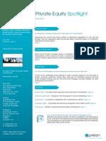 Preqin Private Equity Spotlight June 2012