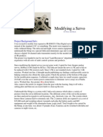 Modifying a Servo