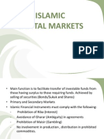 Dr Mohammed Islamic Capital Markets