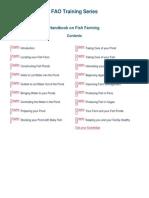 FAO Fish Handbook Fish Farming
