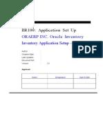 INV BR100 Application Setup V1.0