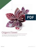 3D Origami Flower Ball