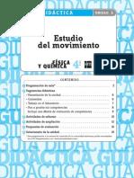 4ESOFQC2 GD ESU01 Estudio Del Movimiento