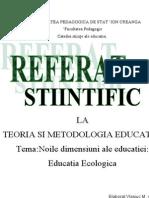 referat stiintific