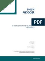 Phish Phodder - David Harley Andrew Lee
