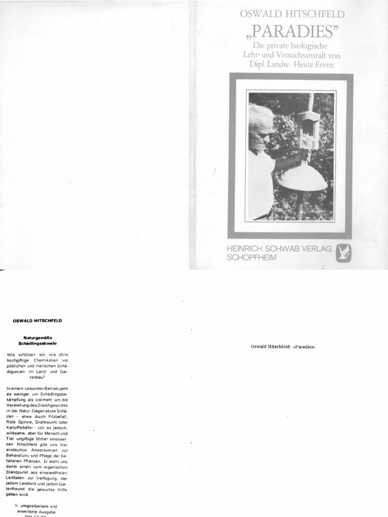 Hitschfeld-Erven Mein Paradies 1976