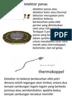 Detektor Panas Caca