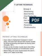 Group 4 Kels B - Patient Lifting Technique