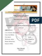 Circuits Lab Report Exp1