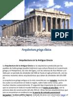 ARQUITECTURA GRIEGA CLÁSICA