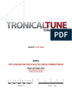 TronicalTune PCB Template