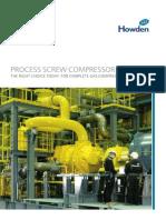 Process Screw Compressor Brochure