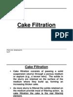 Cake Filtration