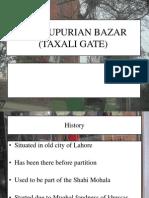 SHEIKUPURIAN BAZAR (TAXALI GATE)
