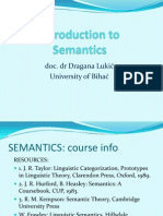 Intro SemanticsIDragana
