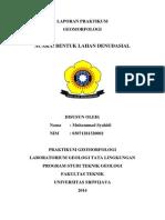 Laporan Geomorfo 12 (DENUDASIONAL)