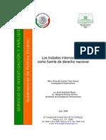 Los Tratados Internacionales Como Fuente Del Derecho Nacional