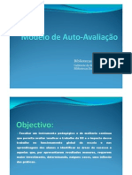 (Microsoft Power Point - Modelo de Auto-Avalia