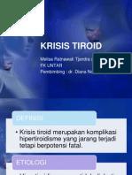Ppt Krisis Tiroid