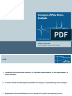 Concepts of Pipe Stress Analysis