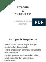 Estrogen Progesteron