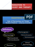 Intro Pharmacology