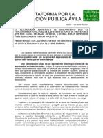 Nota Prensa Sustitucion 15 Dias