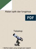 Alatan Optik Dan Fungsinya