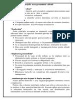 3.Principiile Managementului Calitatii