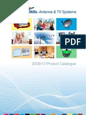 Hills 2009/10 Product Catalogue | Antenna (Radio) | Ultra
