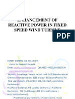 Reactive Power Enhancement