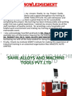 Sahil Alloys and Machine Tools