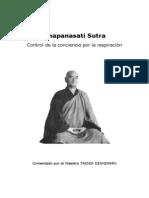 Anapanasati Sutra Por Taisen Deshimaru