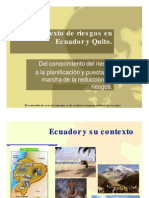 4. Contexto Riesgos Ecu - DMQ - UTE 2014