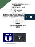 Tarea Complemento Multitarea y Multiusuario s.o. Unix.