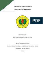 Makalah Absorbsi & Digesti-Devi-Unram