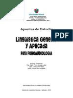 Manual de Lingüística Aplicada Para Fonoaudiología UMayor 2010
