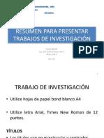 Bibliografia y Citas, 2013