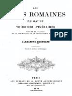Bertrand Alexandre - Les Voies Romaines en Gaule